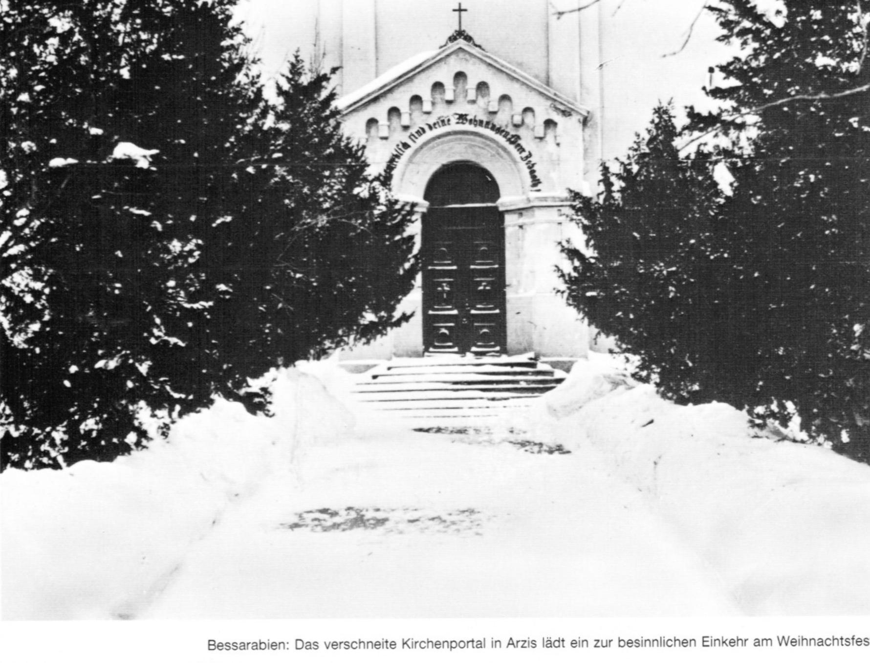 Weiße Weihnacht in Bessarabien