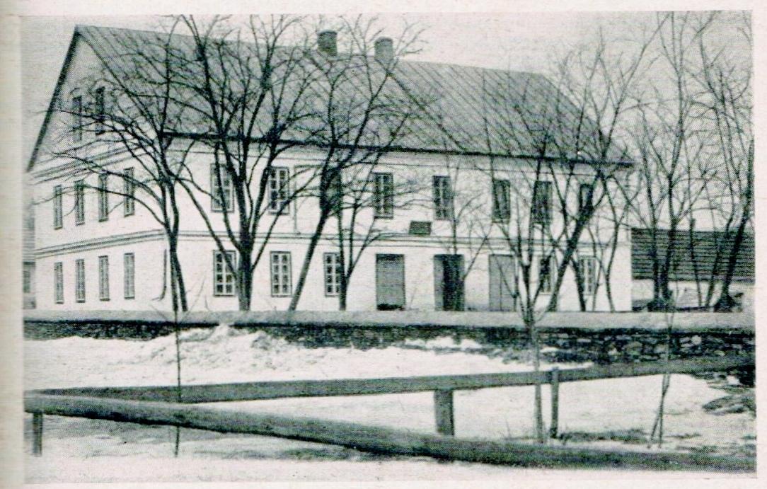 Schulhaus Wittenberg, Bessarabien